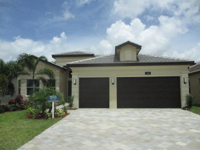 Boynton Beach Single Family Home For Sale: 12850 Granite Mountain Pass