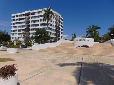 West Palm Beach Condo Sold: 1500 Presidential Way #601