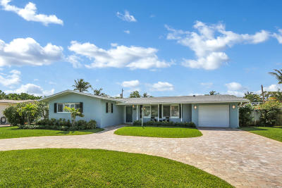 Boynton Beach Single Family Home For Sale: 2701 SW 6th Street