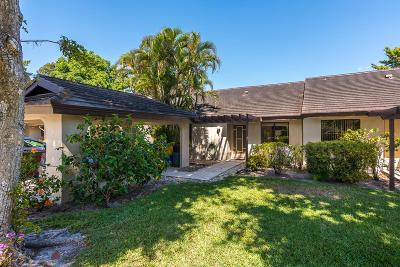 Boynton Beach Single Family Home For Sale: 10122 Ashwood Place