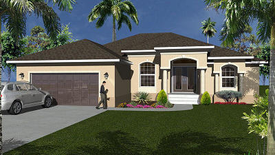 Port Saint Lucie Single Family Home For Sale: 6122 NW Gaylord Terr Terrace