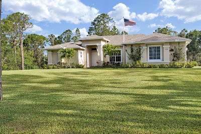 West Palm Beach Single Family Home For Sale: 14577 95th Lane