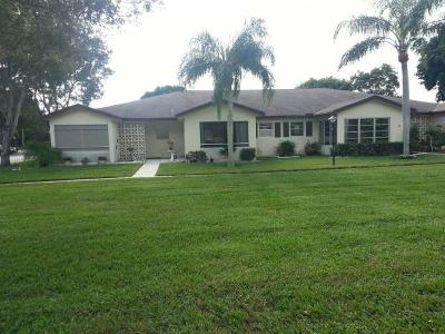 Delray Beach Single Family Home For Sale: 14130 Nesting Way #A