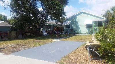 Lake Worth Single Family Home For Sale: 615 E Street