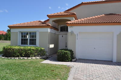 Delray Beach Single Family Home For Sale: 8014 Tranquility Lake Drive