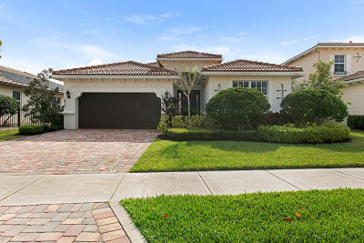 Jupiter Single Family Home For Sale: 213 Andros Harbour Place
