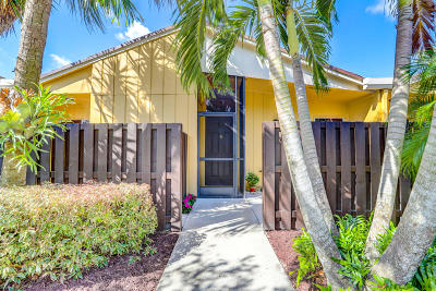 Boca Raton Single Family Home Contingent: 11754 Timbers Way