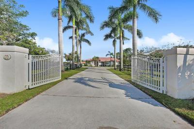 Wellington Single Family Home For Sale: 14985 Oatland Court