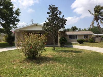 Palm City Single Family Home For Sale: 2554 SW Conch Cove Lane
