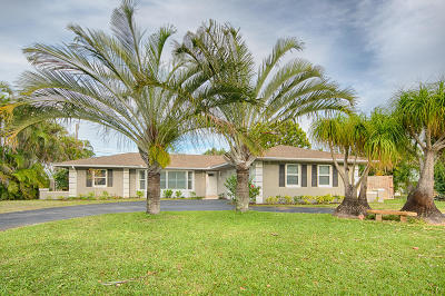 Jupiter Single Family Home Contingent: 80 River Drive