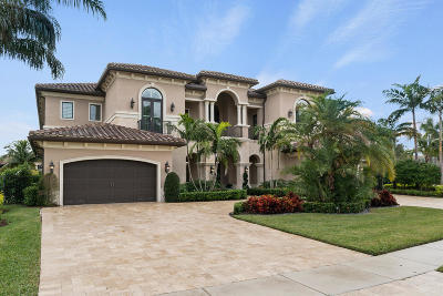 Delray Beach Single Family Home For Sale: 16835 Crown Bridge Drive