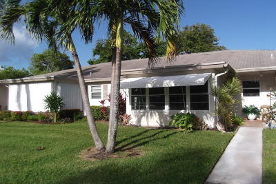 Delray Beach Single Family Home For Sale: 1410 High Point Way SW #C