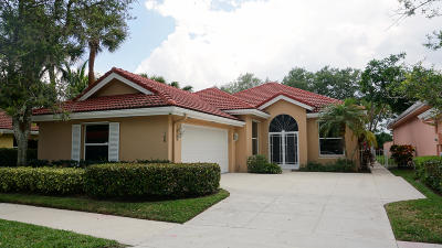 Jupiter Single Family Home For Sale: 186 E Hampton Way