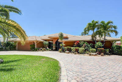 Port Saint Lucie Single Family Home Contingent: 1180 SW Mirror Lake Cove