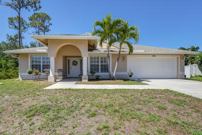 Port Saint Lucie FL Single Family Home Contingent: $219,888