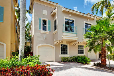 Palm Beach Gardens Townhouse For Sale: 405 Resort Lane #405