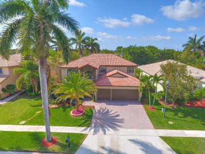 Boca Raton Single Family Home For Sale: 12895 Hyland Circle