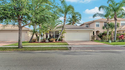 Greenacres Single Family Home Contingent: 5049 Northern Lights Drive