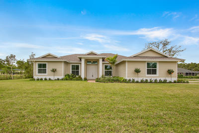 Loxahatchee Single Family Home For Sale: 16648 69th Street