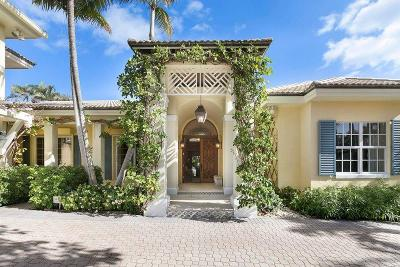 Palm Beach Single Family Home For Sale: 243 Merrain Road