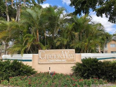 Coral Springs Condo Contingent: 9701 Westview Drive #1416