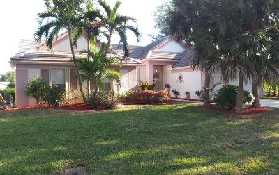 Delray Beach Single Family Home For Sale: 3735 Satin Leaf Court