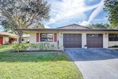 Boynton Beach Single Family Home Contingent: 1664 Palmland Drive