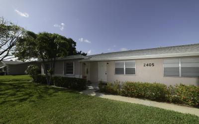 Delray Beach Condo For Sale: 2405 Lowson Boulevard #C