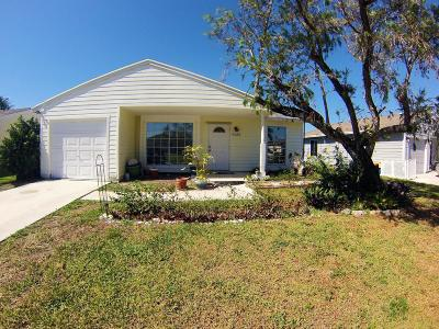 Boynton Beach Single Family Home For Sale: 9129 Carma Drive