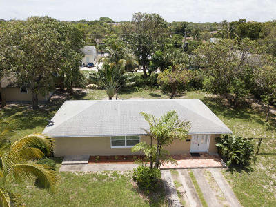 West Palm Beach Single Family Home For Sale: 936 Upland Road