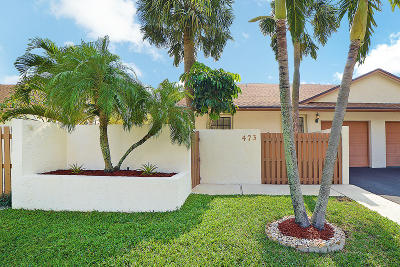 Delray Beach Single Family Home For Sale: 473 SW 28th Avenue SW