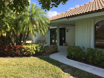 Palm Beach Gardens FL Single Family Home For Sale: $524,000
