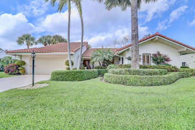 Delray Beach Single Family Home For Sale: 4349 Live Oak Boulevard