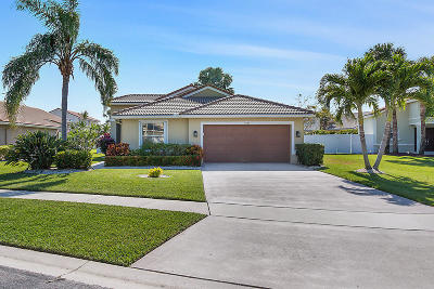Lake Worth Single Family Home For Sale: 5321 Oakmont Village Circle