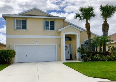 Stuart FL Single Family Home For Sale: $334,000