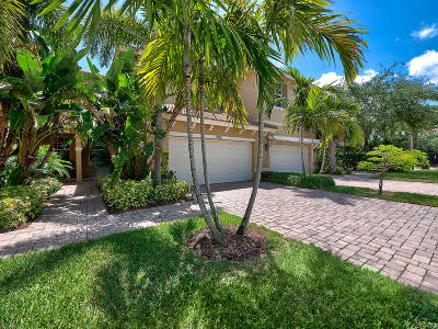 Palm Beach Gardens Townhouse For Sale: 5062 Dulce Court