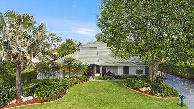 Palm Beach Gardens Single Family Home For Sale: 14 Rabbits Run