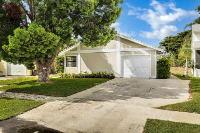 West Palm Beach Single Family Home For Sale: 4720 Brook Drive
