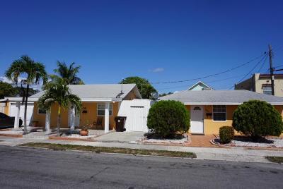 West Palm Beach Multi Family Home For Sale: 4002 Virginia Terrace #4