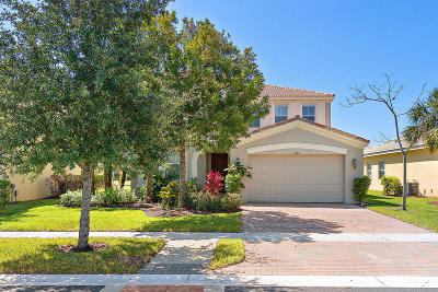 West Palm Beach Single Family Home For Sale: 2388 Bellarosa Circle