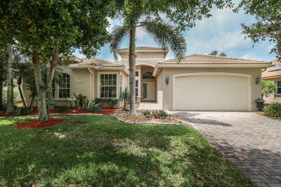 Lake Worth Single Family Home For Sale: 8854 Majorca Bay Drive