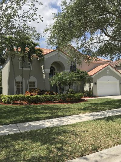Jupiter Single Family Home For Sale: 331 Kingfisher Drive