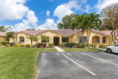 Boca Raton Single Family Home Contingent: 6803 Bridlewood Court