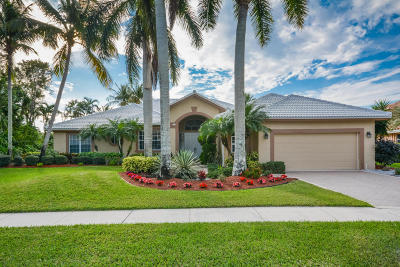 Boynton Beach Single Family Home For Sale: 8177 Desmond Drive