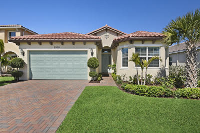 West Palm Beach Single Family Home For Sale: 2920 Bellarosa Circle