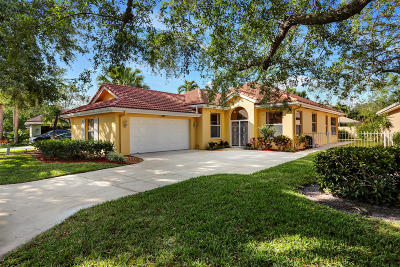 Jupiter Single Family Home For Sale: 117 E Hampton Way
