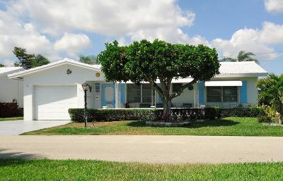 Boynton Beach Single Family Home For Sale: 708 SW 24th Street