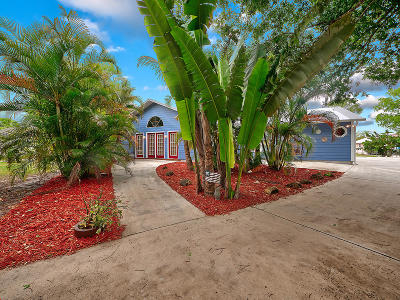 Fort Pierce Single Family Home For Sale: 5113 Buchanan Drive