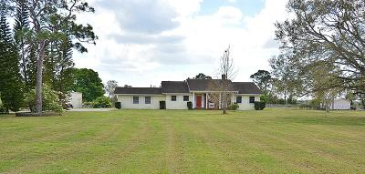 Okeechobee Single Family Home For Sale: 2388 NE 54th Trail