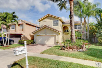 Boca Raton Single Family Home For Sale: 20354 Vera Cruz Lane
